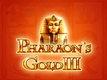 игровой автомат Pharaoh's Gold III / Золото Фараона 3