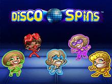 игровой автомат Disco Spins / Диско Спины