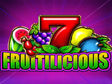 игровой автомат Fruitilicious / Фрутилишез / Вкуснейшие Фрукты